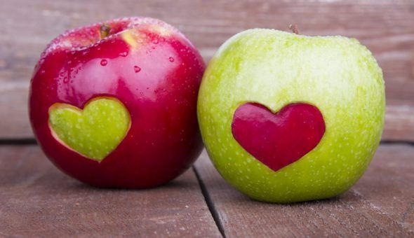 Обряд присушки и приворота на яблоко