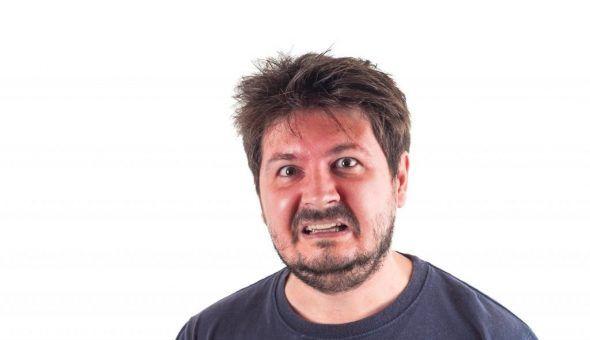 Пылающее лицо может говорить о болезни