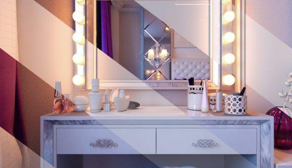 Зеркало в спальне напротив кровати
