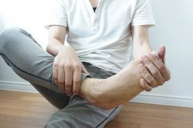 Распознавание порчи на ноги