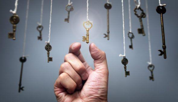 Толкование примет о ключах