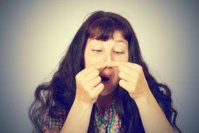 Прыщ на носу