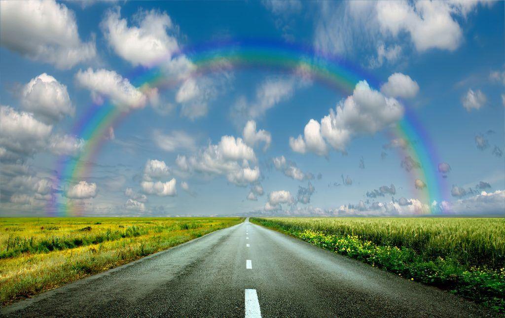 О чем говорят народные приметы, если увидеть радугу