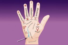 Значение линии влияния на руке
