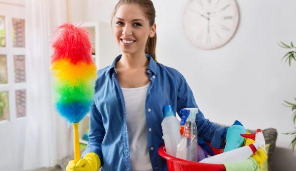 Лучше делать уборку с утра