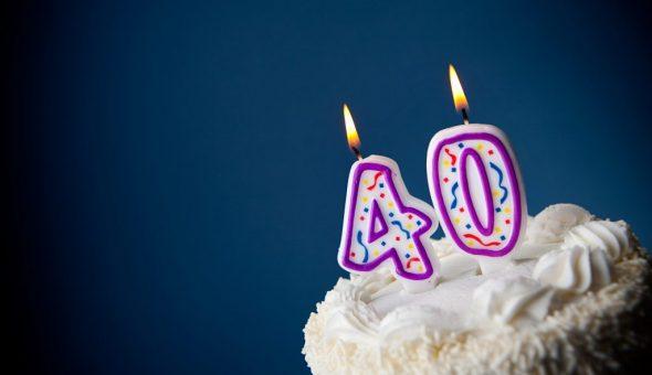 Празднование сорокового дня рождения