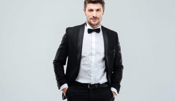 Жениху на свадьбу лучше надеть черный костюм