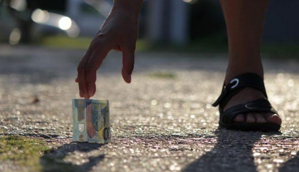Найденные деньги подбирают с учетом дней недели