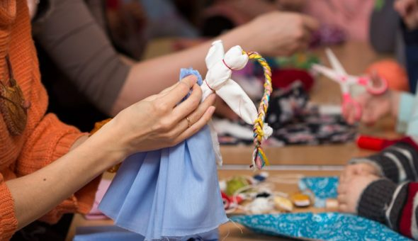 Как сделать куклу-оберег Веснянка