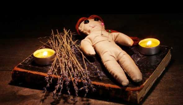 Тканевая кукла Вуду