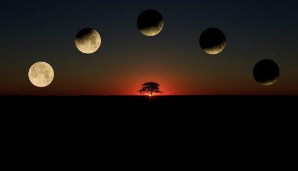 Приметы на луну