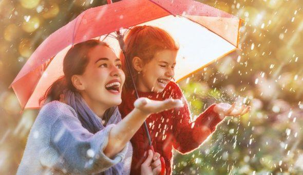 Дождливая погода в сентябре