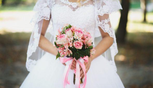 Цветы в букете невесты