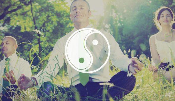 Инь Янь символизирует единение мужского и женского начал