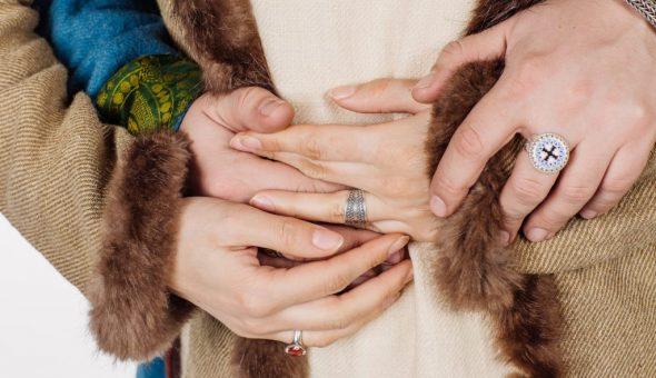 Традиционные славянские кольца делали своими руками