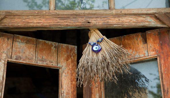 Веник-оберег используют в разных местах