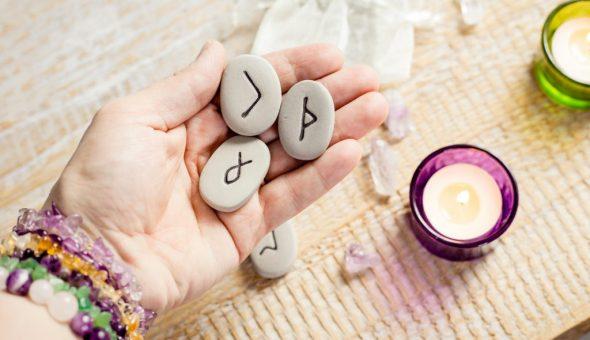 В любви руна Одал символизирует отречение