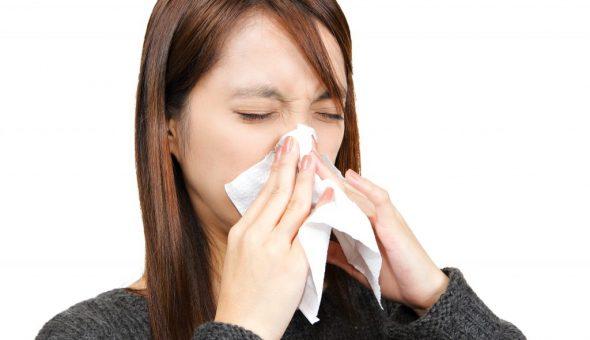 Значения чихания зависят от дней недели