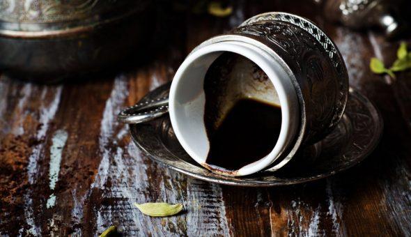 Толкование рыбы на кофейной гуще
