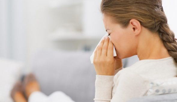 Чих может предвещать выздоровление для больного