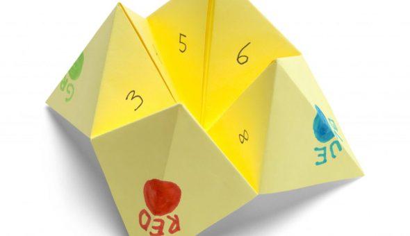 Оригами поможет найти ответы на вопросы