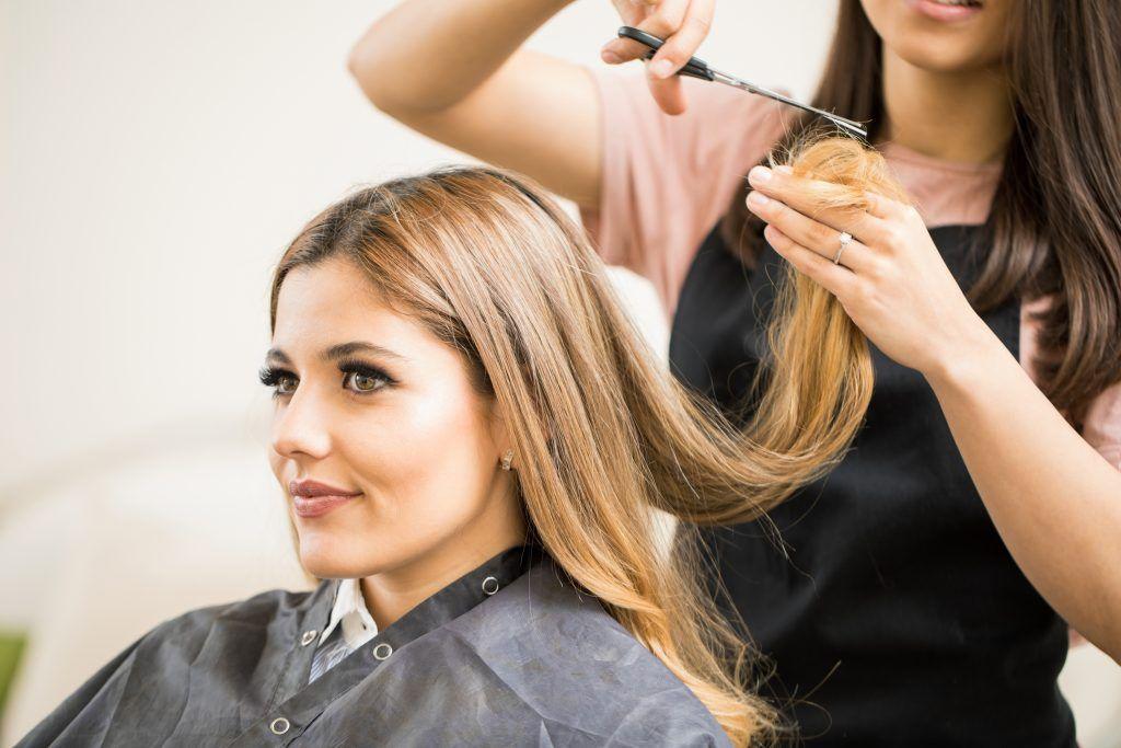 Стрижка волос во время беременности